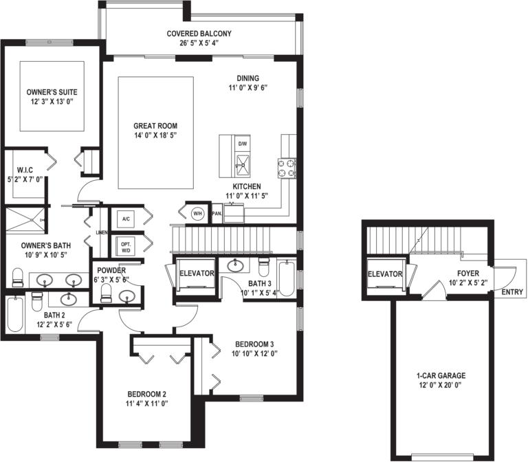 Diagram of Isla (D) Floor Plan
