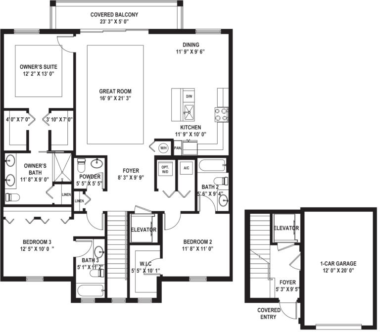 Diagram of Palma (F) Floor Plan