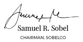 Samuel R. Sobel. Chairman, SobelCo